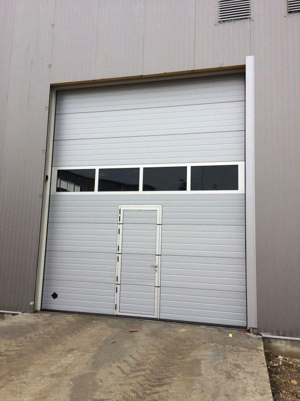 Industrijska segmentna vrata